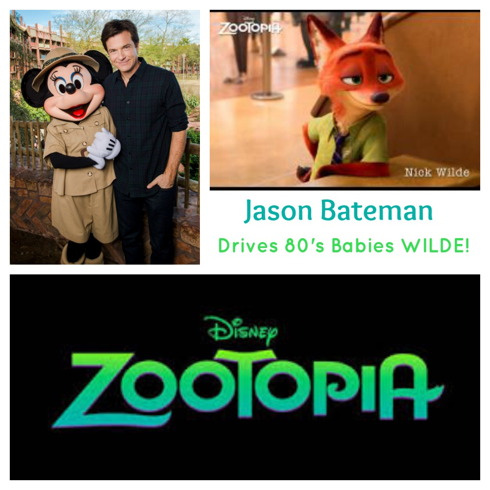 Interview with actor Jason Bateman who voices Nick Wilde in Zootopia