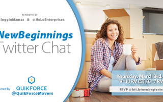 New Beginnings Twitter Chat 3-3-16 at 9p ET bit.ly/newbeginningsrsvp