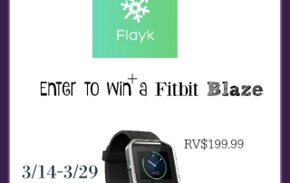 Enter to win a fitbit blaze! Ends 3-29-16. US 18+.