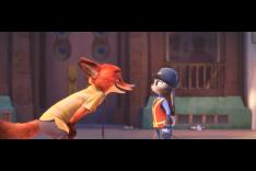 Nick Wilde Talks Down to Judy Hopps in Zootopia