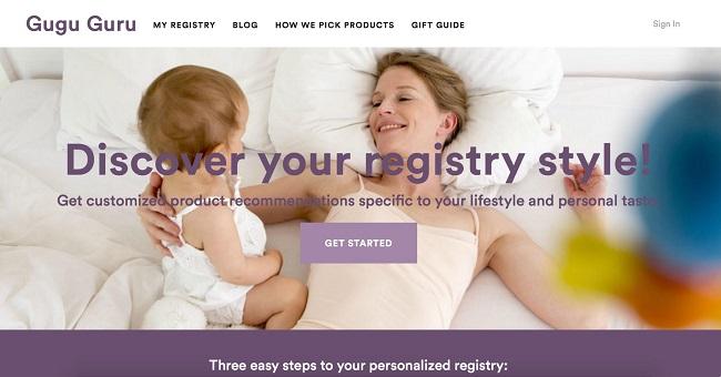 Gugu Guru Registry screenshot