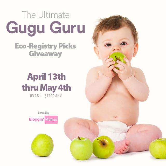 The Ultimate Gugu Guru Eco-Registry Picks Giveaway- ARV $1200- Ends 5-4-16- US 18+