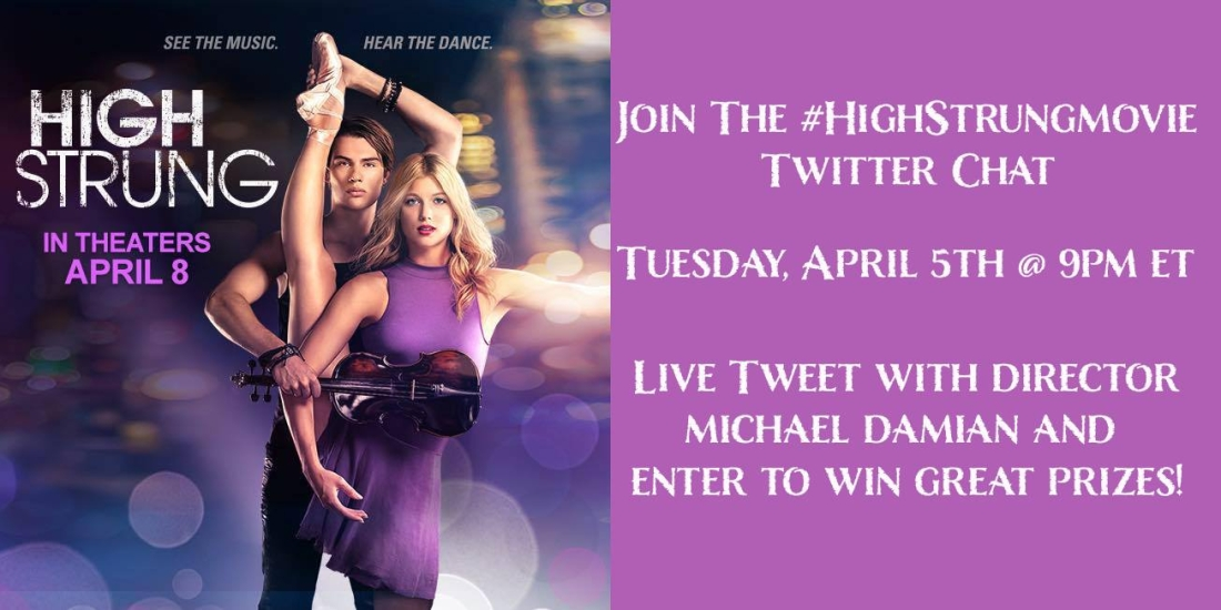High String Movie Twitter Chat April 5, 2016 at 9p ET on Twitter