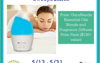 GuruNanda Pamper Your Senses Sweepstakes