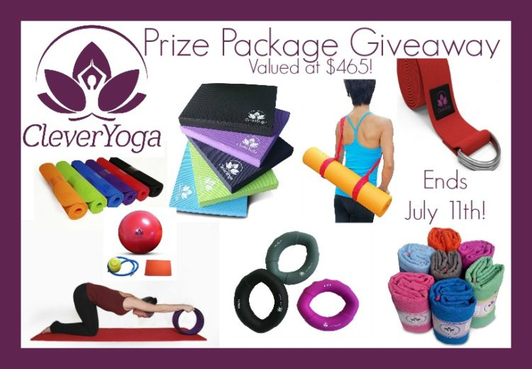 CleverYoga $465 Prize Package- Ends 7-11-16