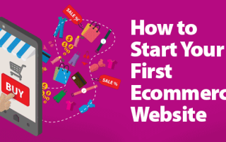 Starting your first ecommerce website