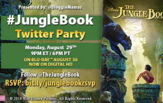The Jungle Book Twitter Party 8-29-16 at 9p ET. RSVP bit.ly/junglebookrsvp