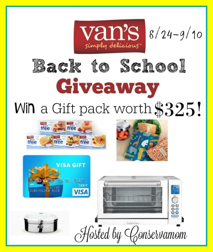 Win a Van's $325 Prize Pack! Ends 9-10-16.