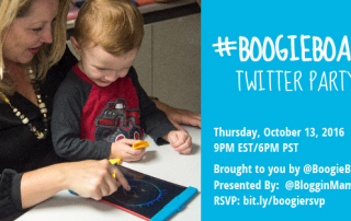 bit.ly/boogiersvp Boogie Board Twitter Party