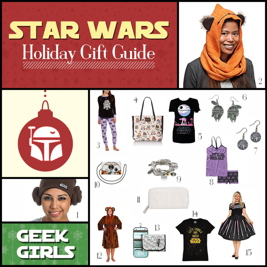 Star Wars Gifts for Women, Geek Girls