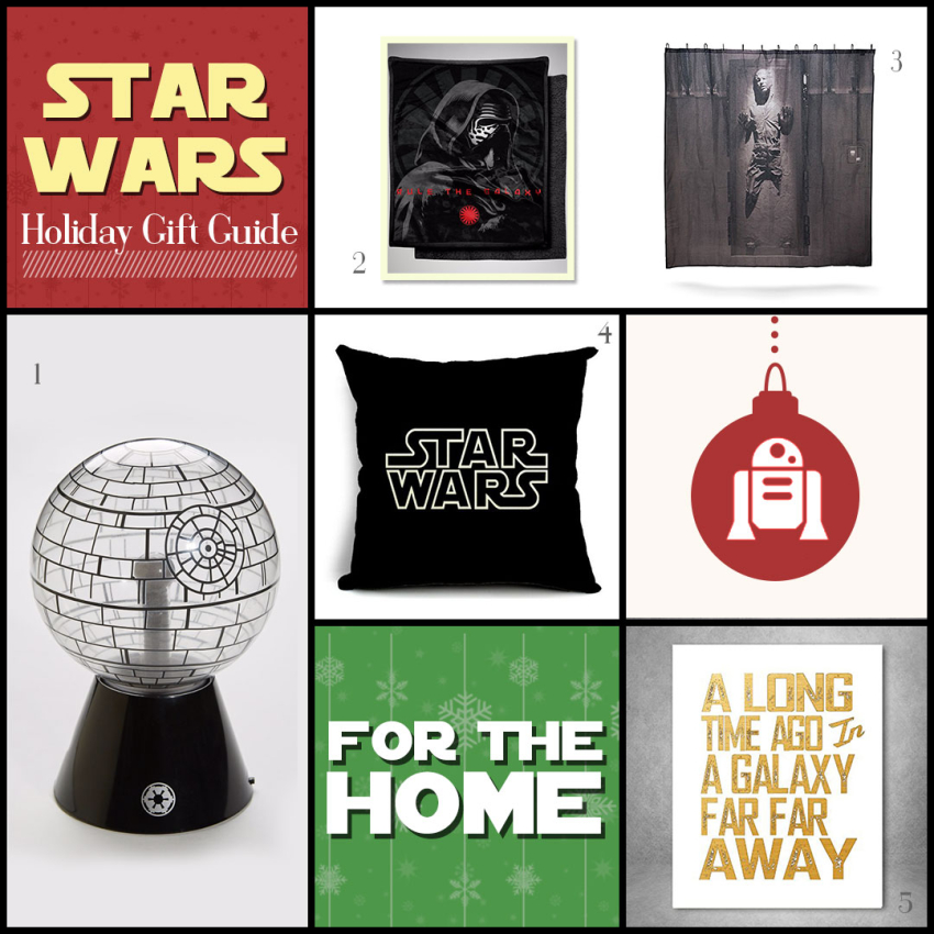 Star Wars Home Decor Gifts