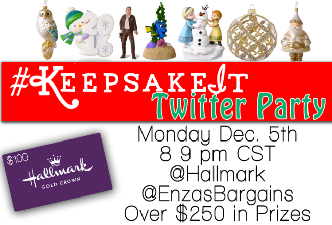 Hallmark Keepsake It Twitter Party