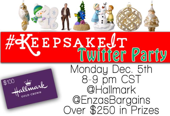 Hallmark Keepsake It Twitter Party
