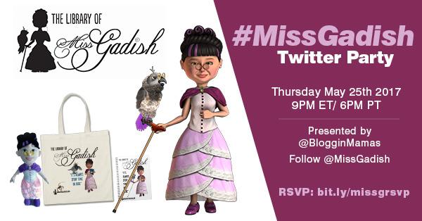 MISS GADISH Twitter Party