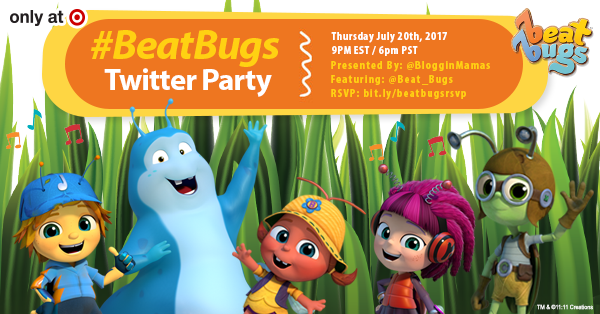 Beat-Bugs-Twitter-Party-Bloggin-Mamas-Facebook-Twitter-Image