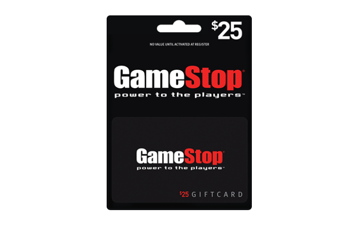 Game Stop Gift Card (1)