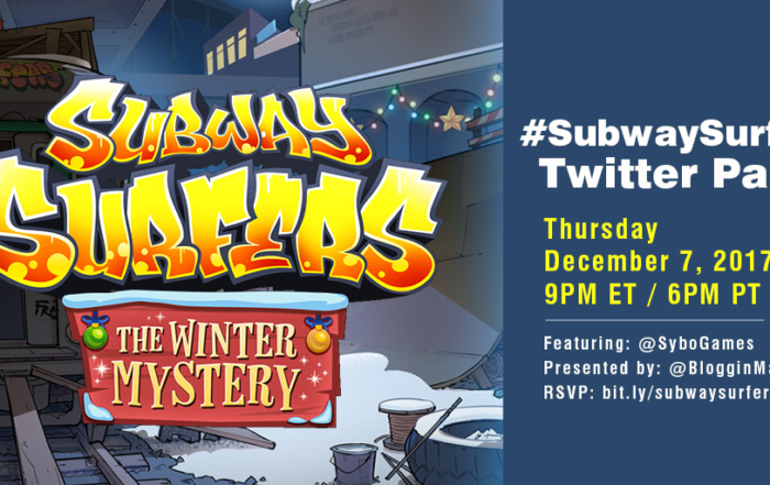 Subway Surfers Winter Mystery Twitter Party