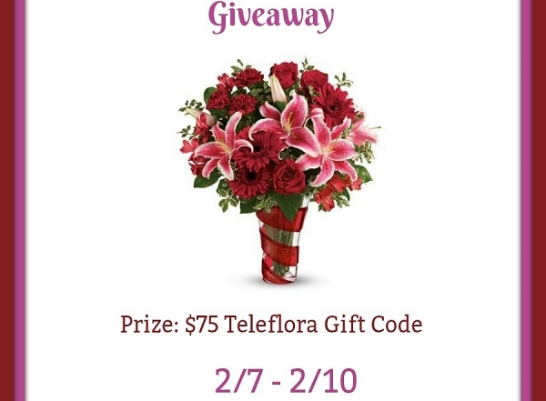 Teleflora Giveaway button