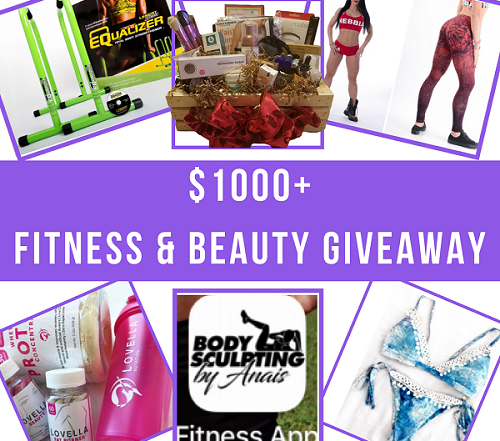 fitness giveaway prize image