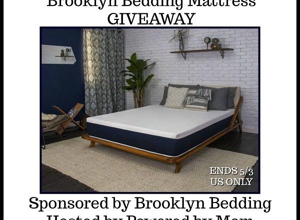 Brooklyn Bedding Giveaway. Win a mattress! US 198+. Ends 5/3/18.