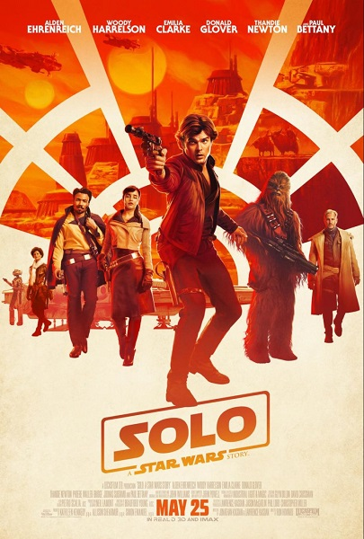 SOLO: Star Wars Story movie poster
