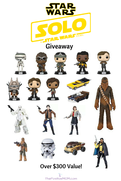 Solo: A Star Wars Story giveaway