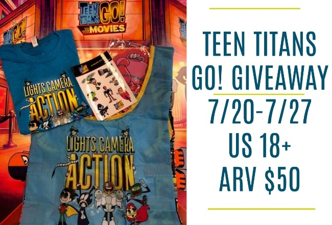 Teens Titans Go! to the Movies Giveaway