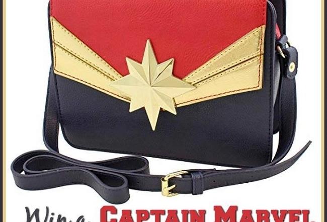 CAPTAIN MARVEL Handbag Giveaway