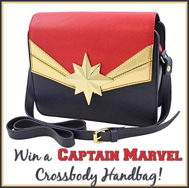 CAPTAIN MARVEL Handbag Giveaway- Ends 3-21-19
