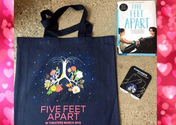 Five Feet Apart Giveaway