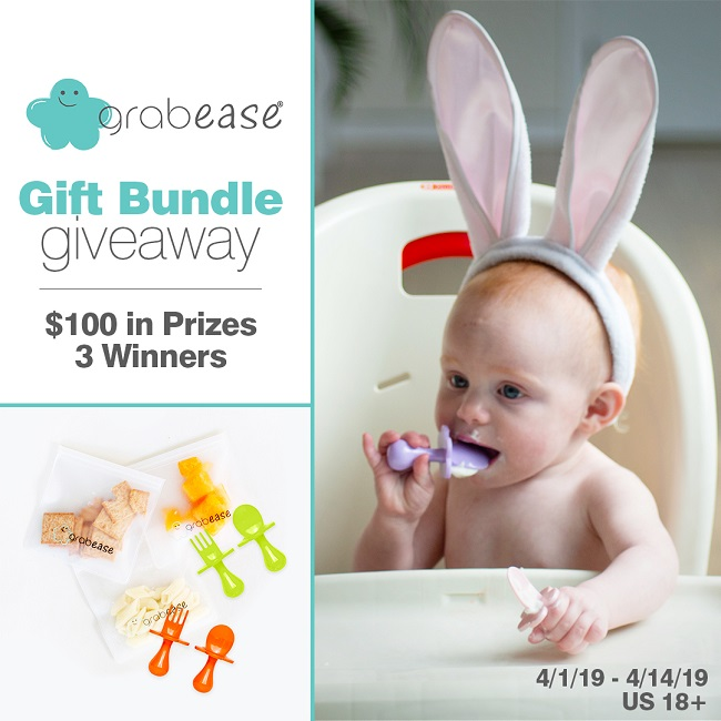 Grabease On the Go Gift Bundle Giveaway Ends 4-14-19 3 Winners