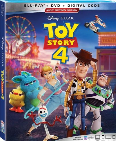 Toy Story 4 Box Cover