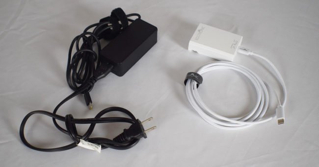 Eggtronic Sirius Charger in comparison to regular chromebook charger